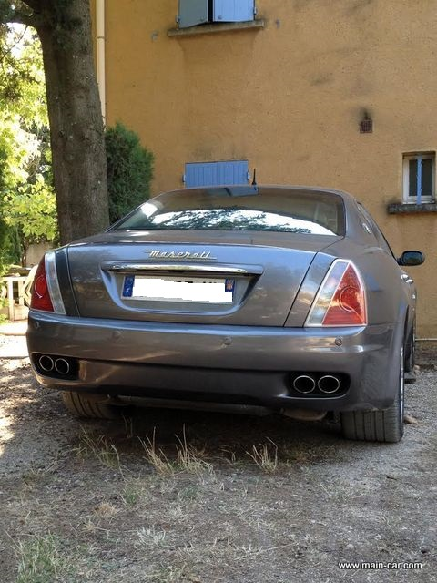 maserati quattroporte 4 2 l boite f1 main car. Black Bedroom Furniture Sets. Home Design Ideas