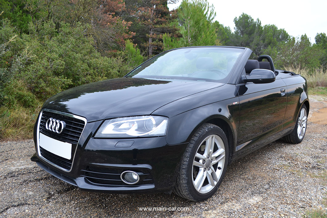 audi a3 s line cabriolet 1 6 tdi 105 cv main car. Black Bedroom Furniture Sets. Home Design Ideas