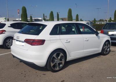 Audi A3 Sportback extérieur (4)