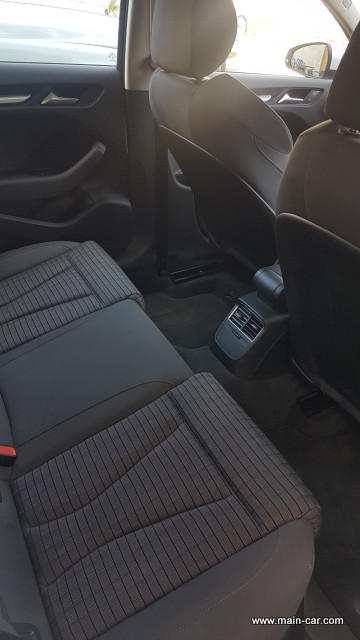Audi A3 Sportback intérieur (4)