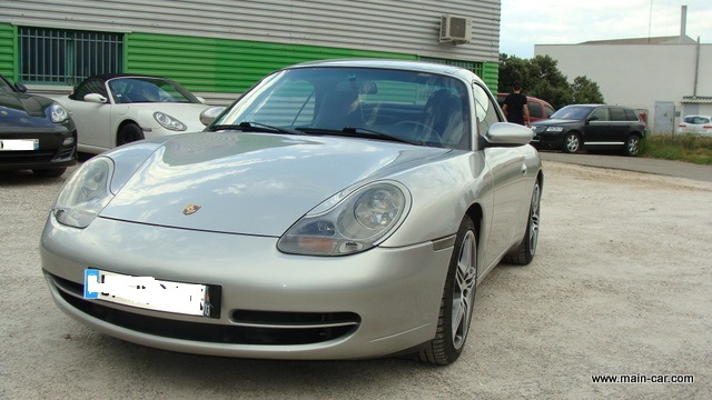 PORSCHE 996 C4 CABRIOLET 3L4 2001